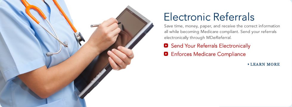 Electronic Referrals