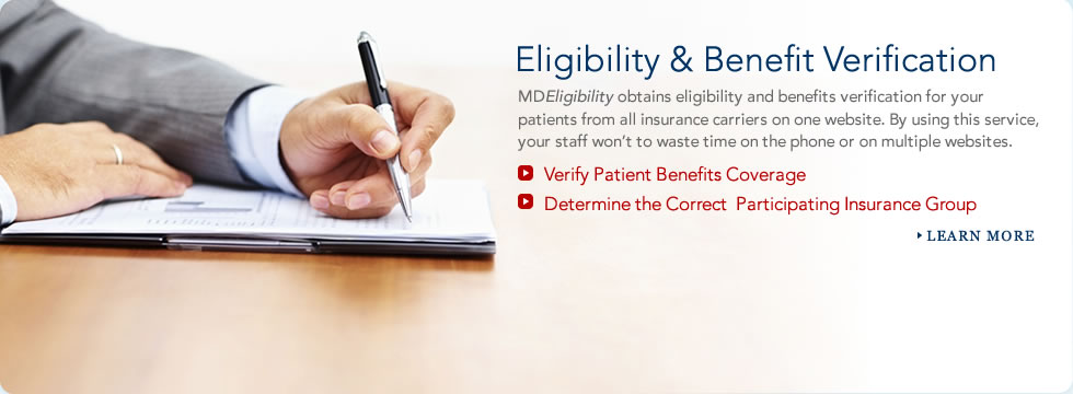 Patient Eligibility & Insurance Benefit Verification