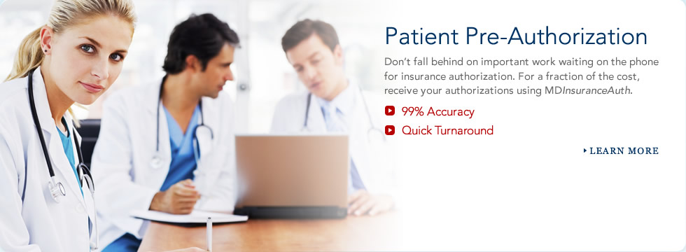 Patient Insurance Pre-Authorization